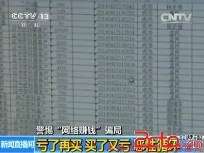 """骗局揭秘:网络弹出窗""""日赚300"""" 结果被骗18万"""